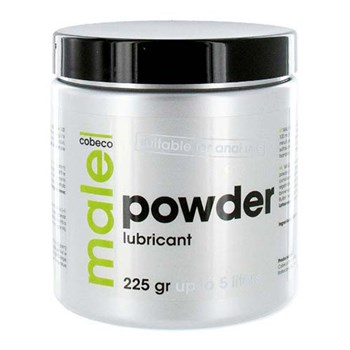 Male Powder Glijmiddel 225gr (5L)