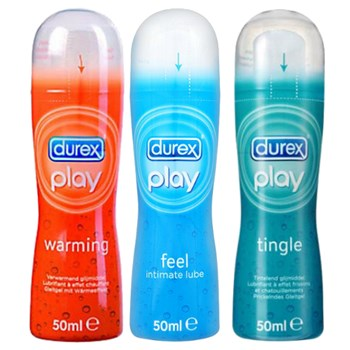 Durex Glijmiddel Trio Play 3x50ml