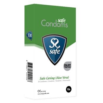 Safe Caring Condooms (Aloë Vera) 10st
