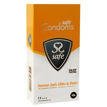 Intense Safe Condooms (Rib&Nop) 10st