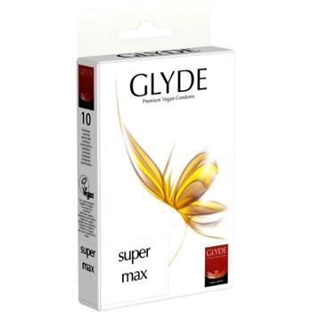 Glyde Premium Vegan Condooms Super Max 10st