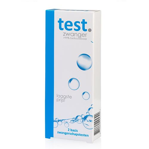 Zwangerschapstest Cassette (2st)