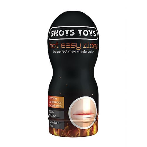 Shots Toys Hot Mouth masturbator
