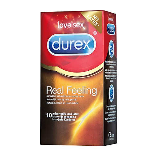 Durex Real Feeling (Latexvrij) Condooms 12st