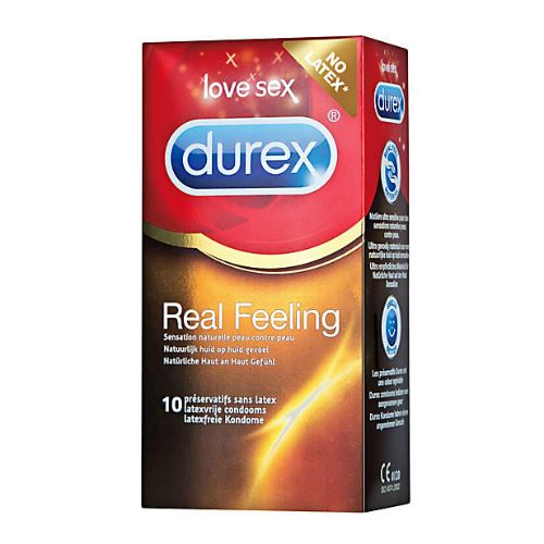 Durex Real Feeling (Latexvrij) Condooms 12st
