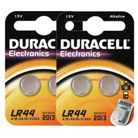 Duracell Batterij LR44 4st