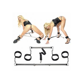 Pipedream Spread'em Bar and Cuff Set