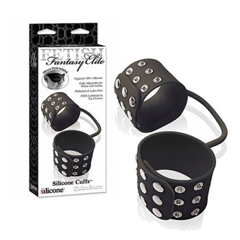 Pipedream Silicone Cuffs (Zwart)