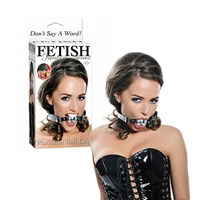 Pipedream Platinum Ball Gag (Zwart)