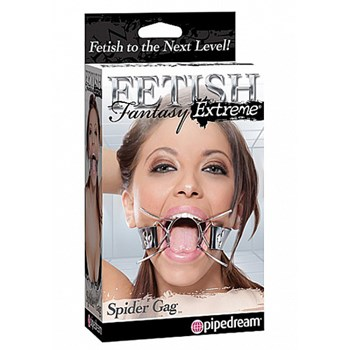 Pipedream Extreme Spider Gag (Zwart)