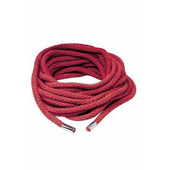 Pipedream Japanese Silk Rope Red (Zwart)