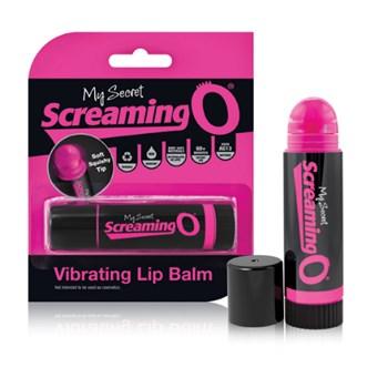 The Screaming O Vibrating Lip Balm (Zwart)