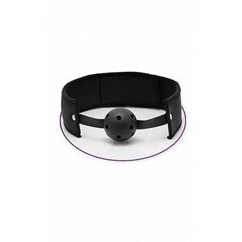 Pipedream Ultra Breathable Ball Gag (Zwart)