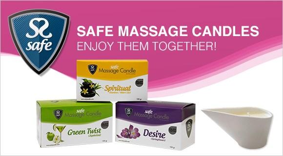 Safe Massage Candles