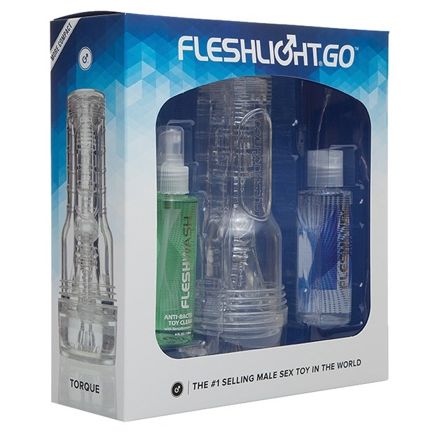 Fleshlight GO Torque Ice Combo