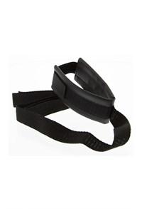 Halsband met koord (klittenband)