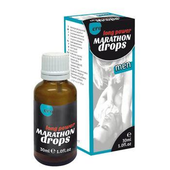 Marathon druppels - man