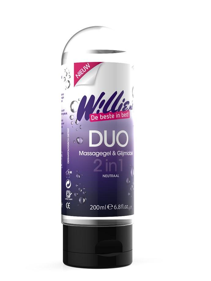 Willie duo massagegel & glijmiddel
