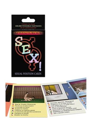 Avontuurlijke sex! kaartspel