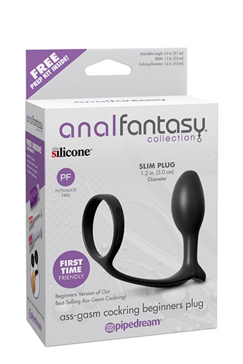 Anal Fantasy ass-gasm beginners plug