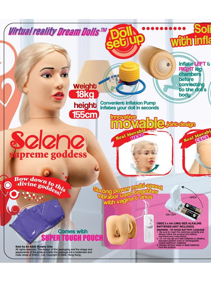 Lovedoll Selene supreme goddess
