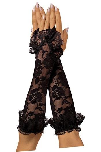 Lange kanten handschoenen