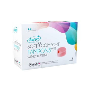 Beppy Wet Soft-Comfort Tampons (8 stuks)