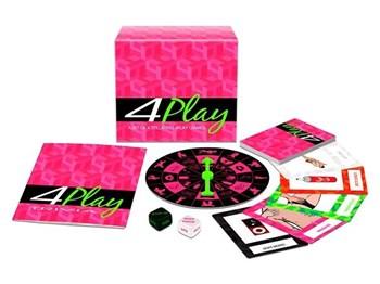 4 Play! Bordspel met 4 verschillende spellen