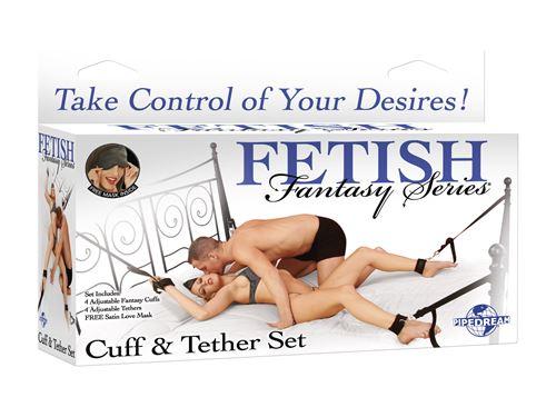 Fetish Fantasy: Bed bondage set