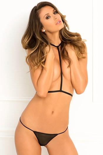 Rough Romance Harness lingerie set