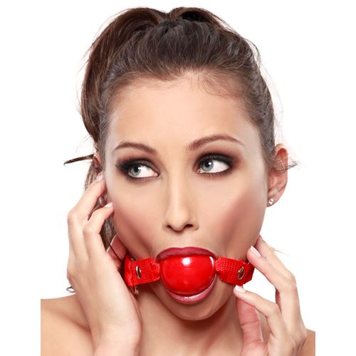 Ruby ball gag