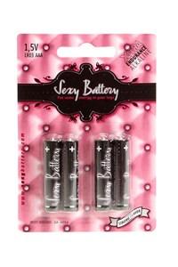 4 x AAA Batterijen (Sexy Battery)