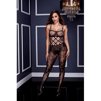 Racerback bodystocking