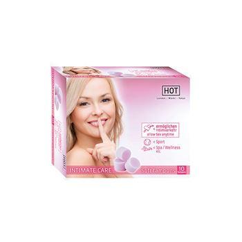 Intimate care zachte tampons (10 stuks)