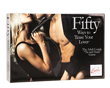 Fifty ways to tease your lover bordspel