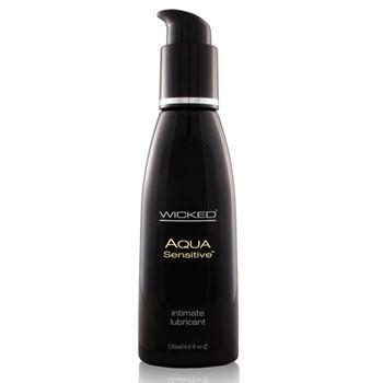 Aqua sensitive glijmddel op waterbasis