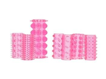 Penis sleeves voor elke dag 1 (roze)