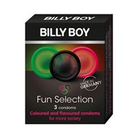 Billy Boy Fun Selection Condooms 3 stuks