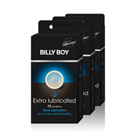 Billy Boy Extra Lubricated Condooms 36st