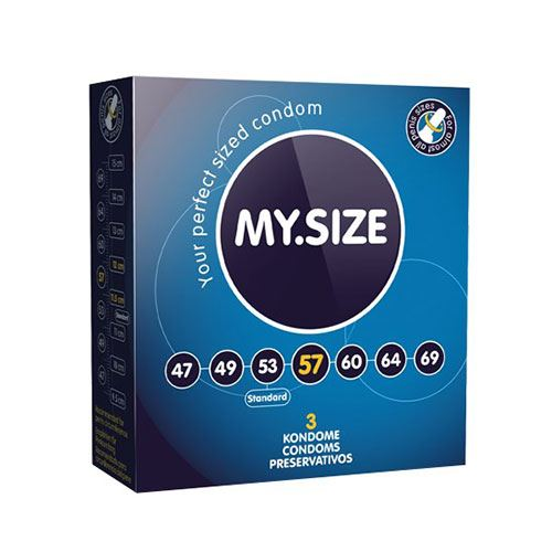 My Size L Condooms 57mm 3st