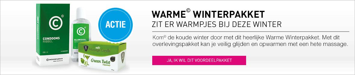Kom de winter door met het warme winterpakket