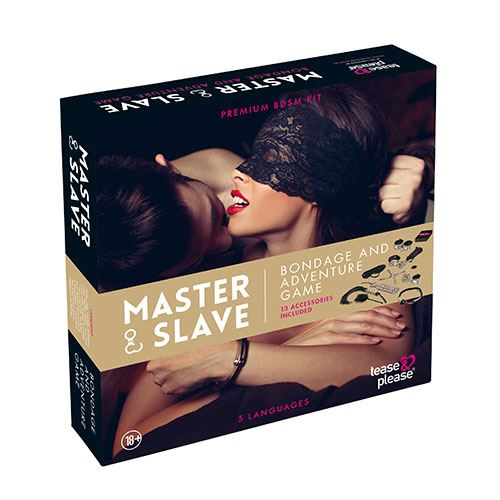 Master & Slave BDSM Kit tijgerprint