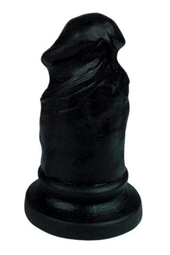Plug & Joy penis anaalplug (Zwart)