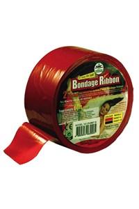 Brede Bondage lint (Rood)