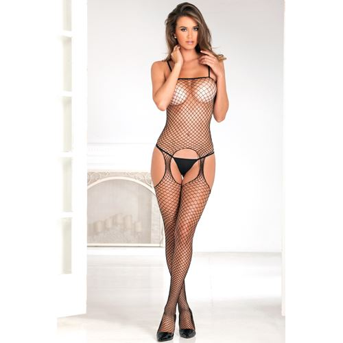 Industri�le visnet bodystocking