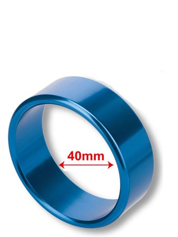 Raket ring 40mm (Blauw)
