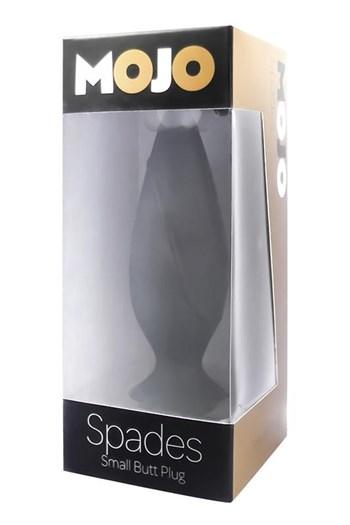Mojo Spades anaal plug small (diverse) (Zwart)