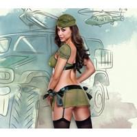 3-Delig officier uniform (S/M)