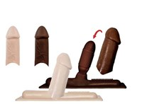 RealLike sleeve voor Sybian (large) (Chocolade)