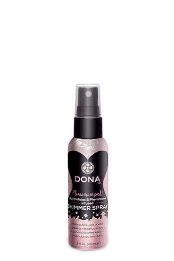 Dona shimmer spray (Roze)